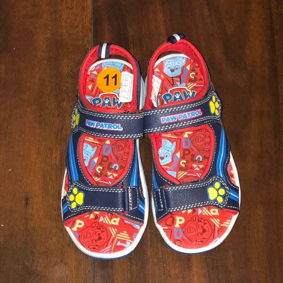 Boys Paw Patrol Sandals Size 1